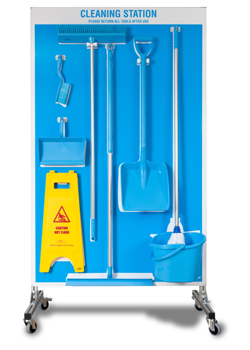 Cleaning Station with Tools