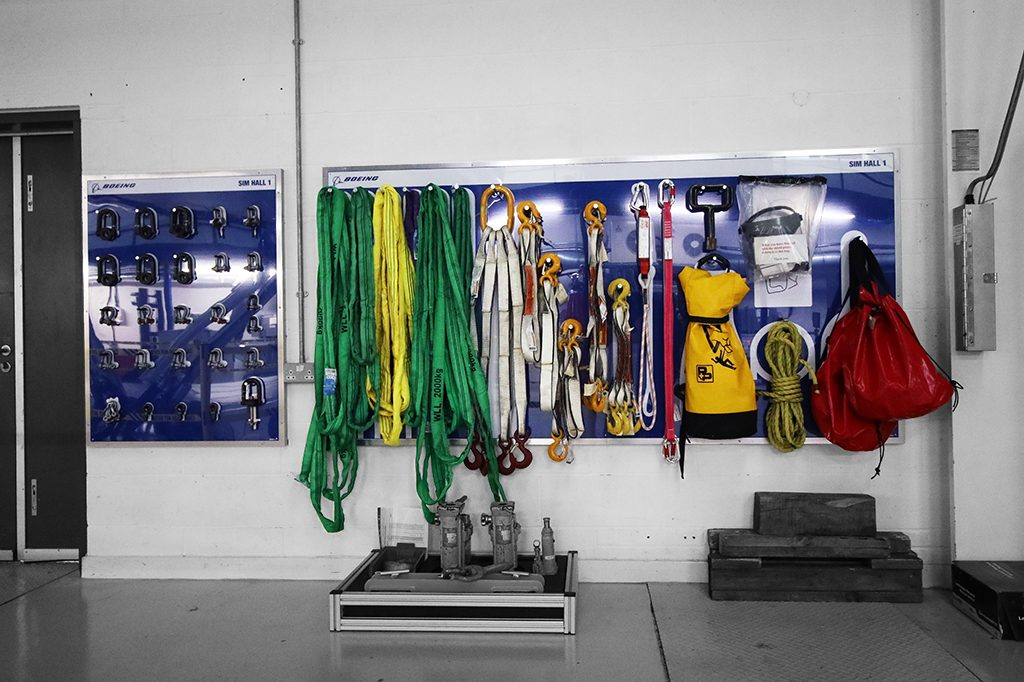 Shadow Board for Lifting Tackle and Slings