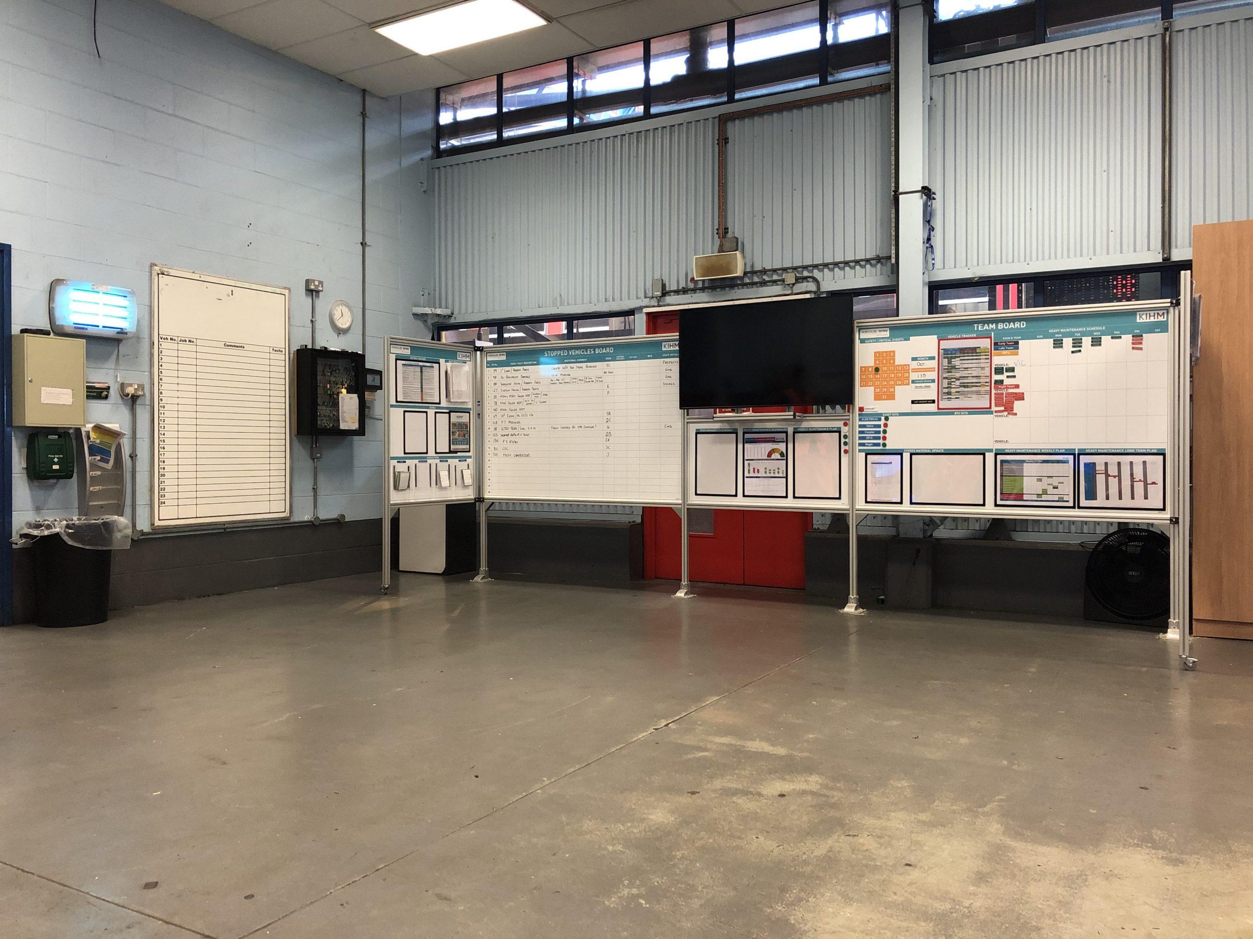 Keolis Amey DLR - Management Centre - Whiteboard (1)